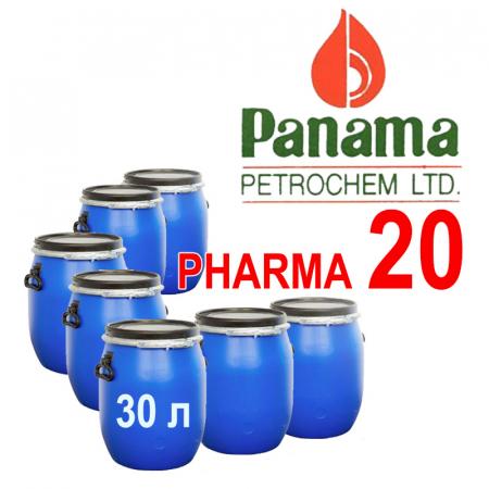 Вазелиновое масло 20-ой вязкости ИНДИЯ PANAMA PETROCHEM LTD / WHITE MINERAL OIL PHARMA 20. В бидонах 30 л.