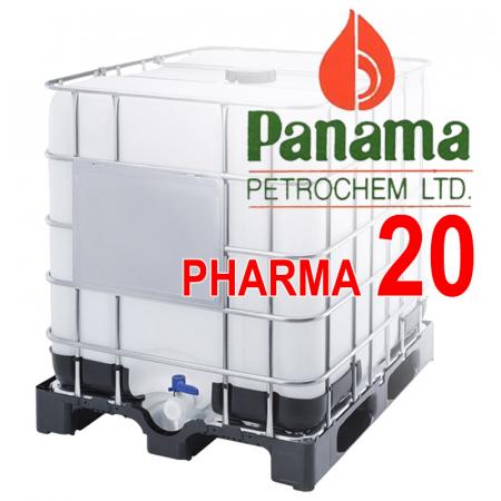 Вазелиновое масло 20-ой вязкости ИНДИЯ PANAMA PETROCHEM LTD / WHITE MINERAL OIL PHARMA 20. В кубах 830 кг / 1010 л