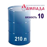 Белое минеральное вазелиновое масло 10-ой вязкости (Россия). В бочках 170 кг/ 210 л.