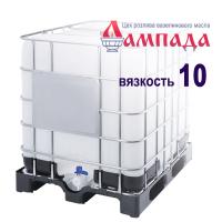 Белое минеральное вазелиновое масло 10-ой вязкости (Россия). В кубах 830 кг / 1015 л