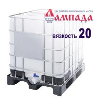Белое минеральное вазелиновое масло 20-ой вязкости (Россия). В кубах 830 кг / 1010 л